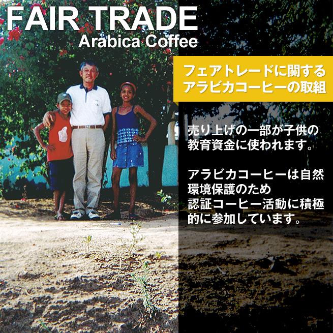 フェアトレードジャパン アラビカコーヒーの取り組み