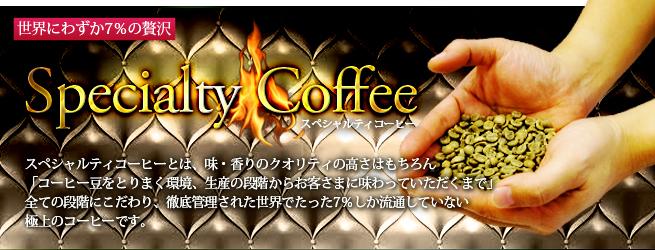 産地から選ばれたスペシャルティコーヒー